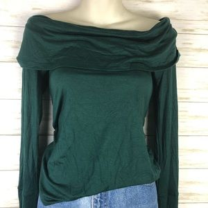 Anthropologie Deletta NWT Off Shoulder Blouse